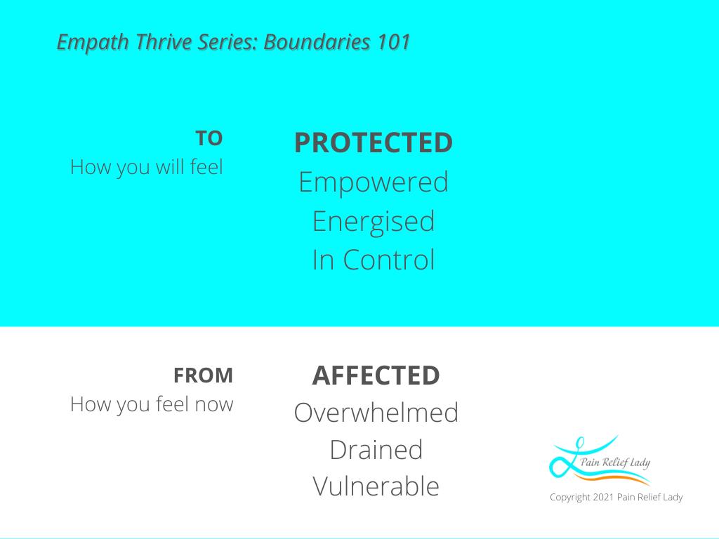 Empath Thrive Series: Boundaries 101